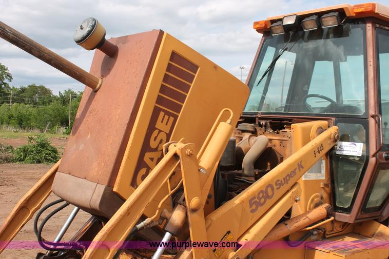 1992 Case 580 Super K Construction King backhoe | Item H5655