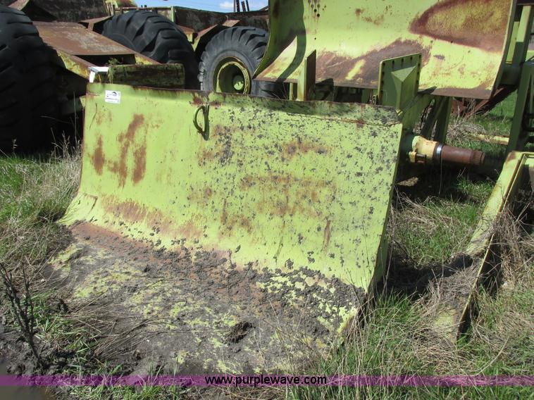 Terex tandem scraper parts | Item I2569 | SOLD! June 12 Cons