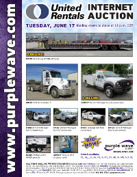 View June 17 United Rentals Auction flyer