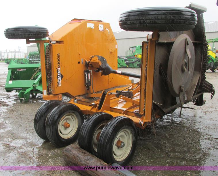 2004 Woods Bw180 15 Batwing Rotary Mower Item A8711 6