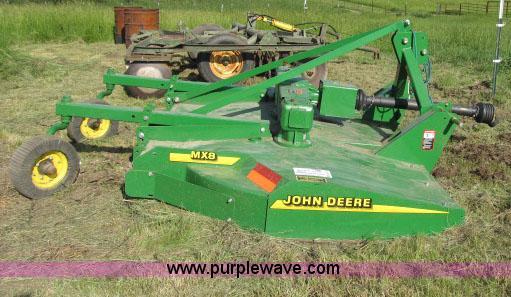 John Deere MX8 rotary mower | Item D3977 | SOLD! June 25 Ag