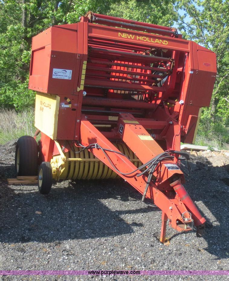1989 New Holland 848 round baler | Item F6983 | SOLD! June 2