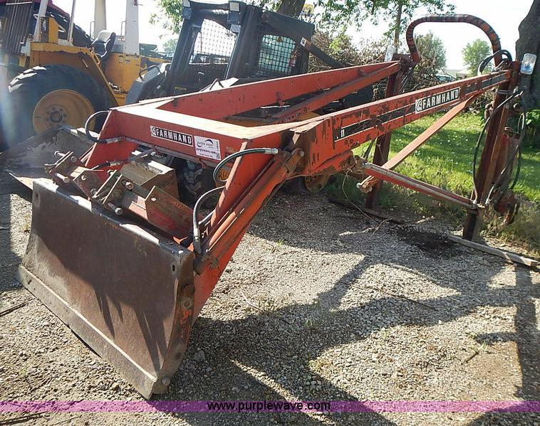 Farm Hand F11-C loader/blade | Item I3622 | SOLD! June 25 ...