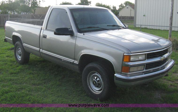 1998 Chevrolet Silverado 2500 Pickup Truck Item H5441 So