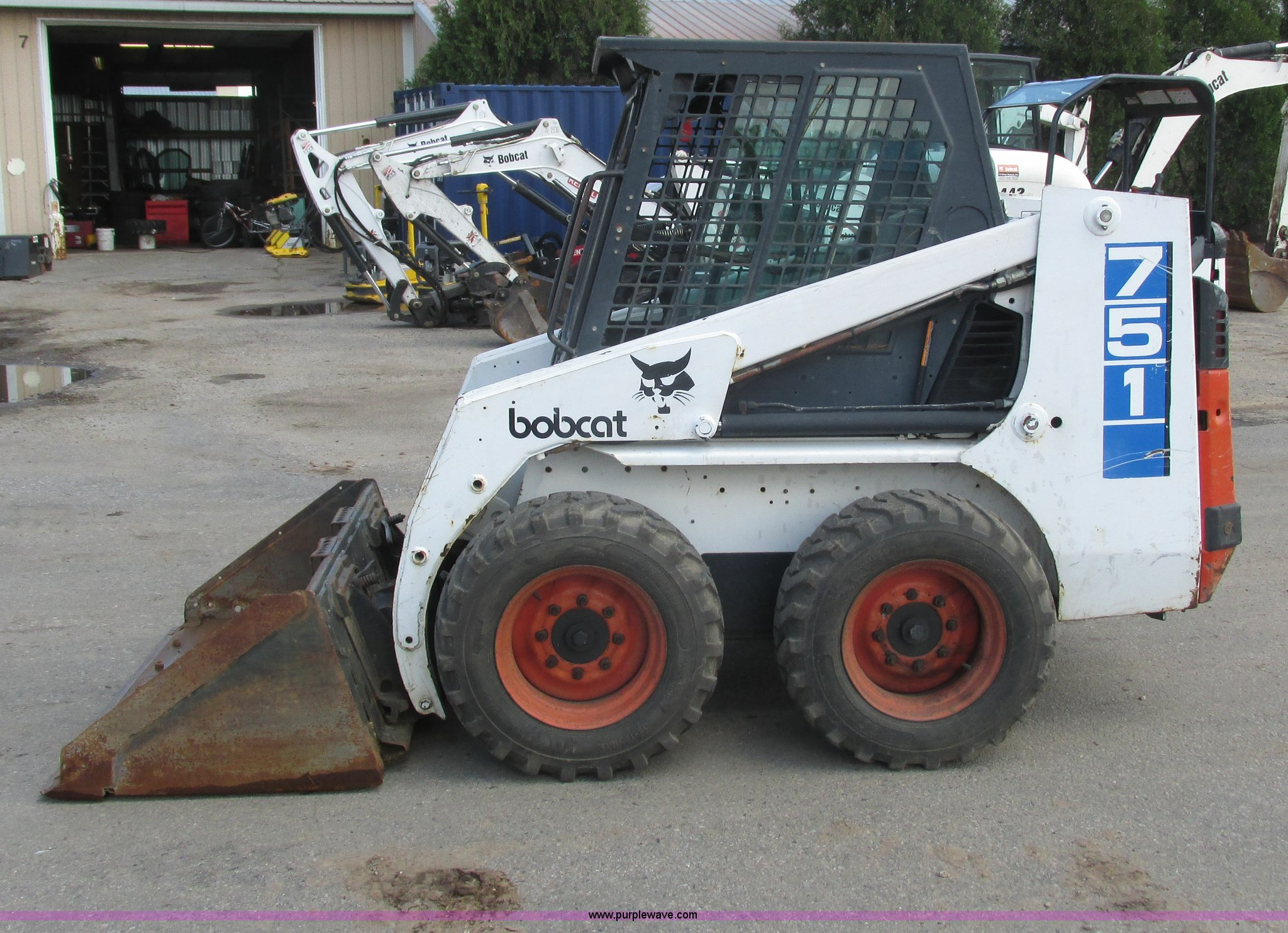 1996 Bobcat 751 skid steer | Item I3953 | SOLD! June 26 Tri-