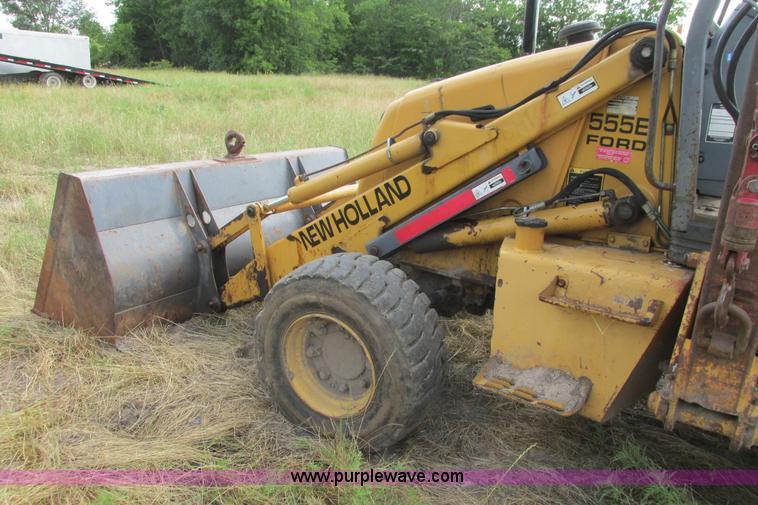 1997 New Holland 555E backhoe | Item I9637 selling at SOLD! June 26