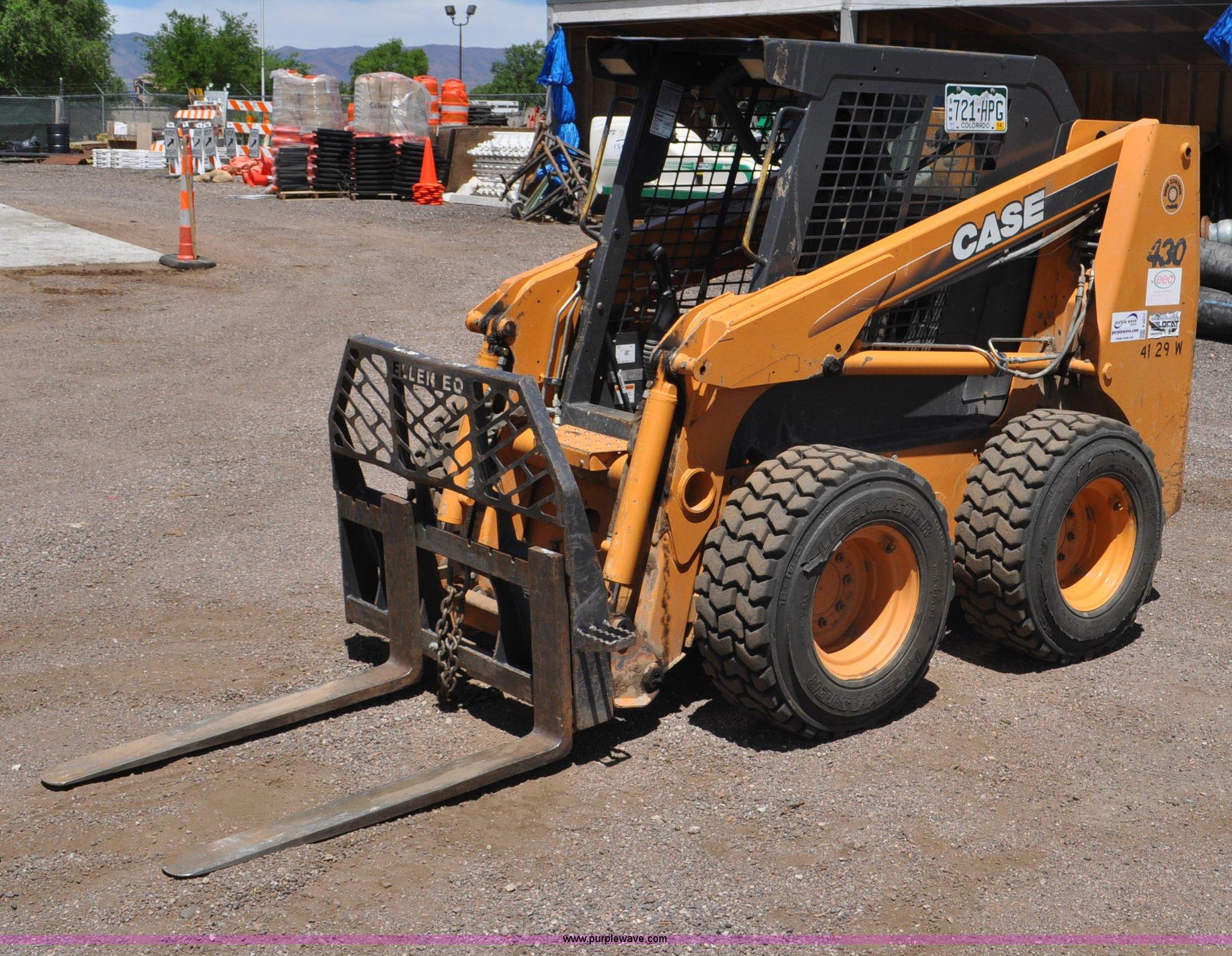 F2017 image for item F2017 2006 Case 430 skid steer