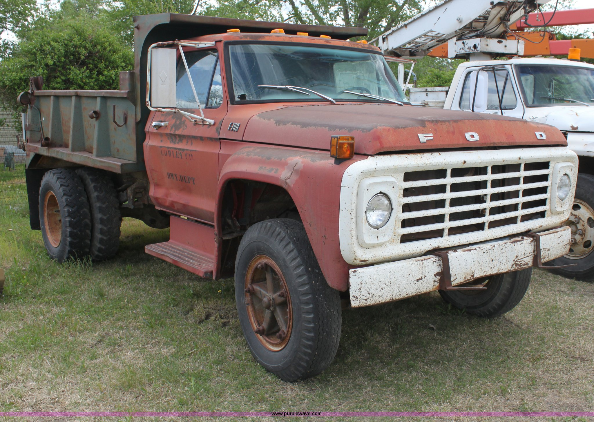 1968 Ford Dump Truck Wiring Diagrams 1954 F600 1977 F700 Item H2062 Sold June 26 Const Rh Purplewave Com For Sale F500