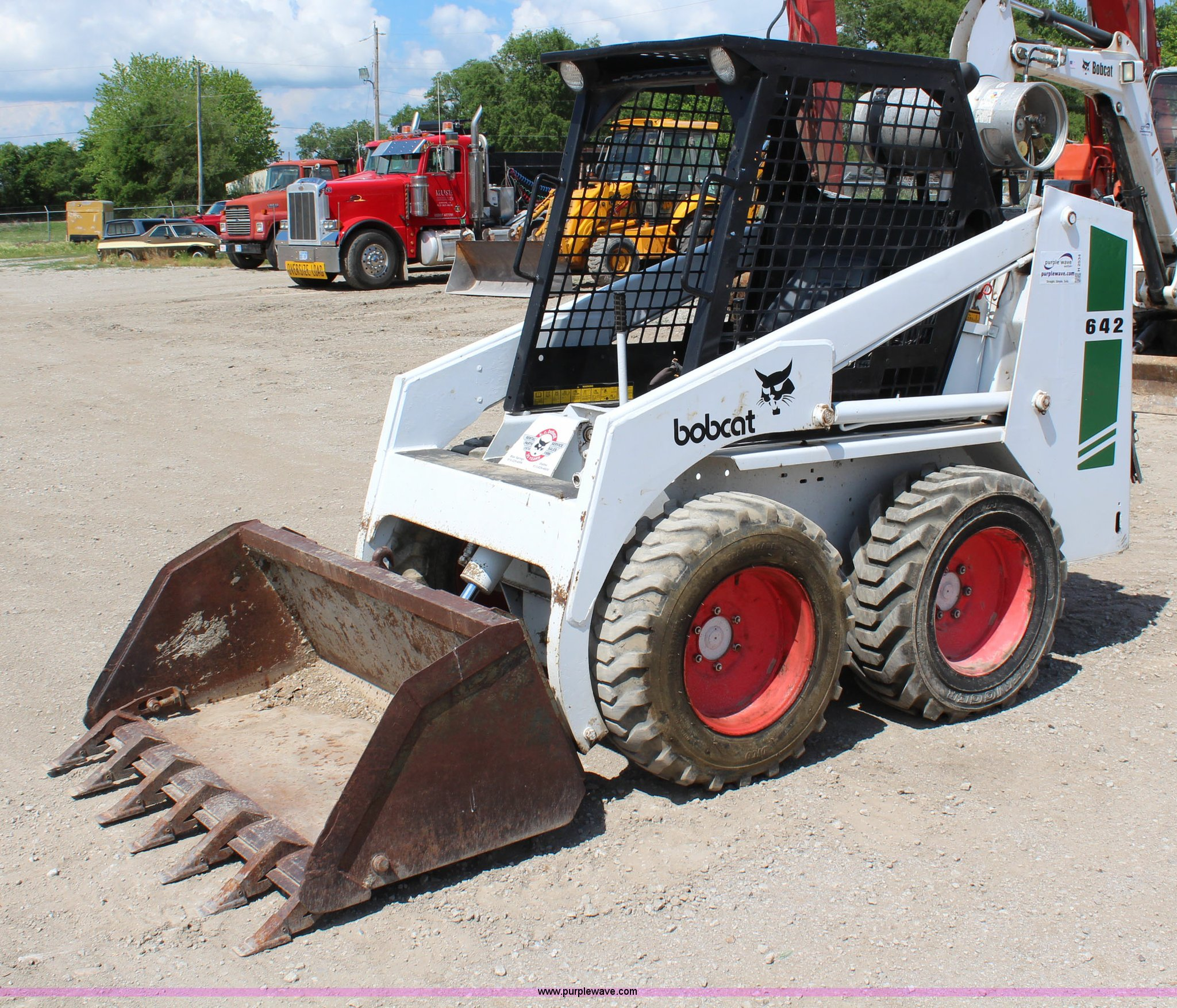 Bobcat 642 Parts Wiring Diagram Skid Steer Item Sold June Cons 2048x1754