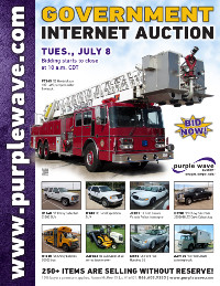 View July 8 Government Auction flyer