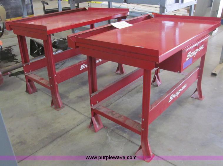 2 Snap On Work Tables Item Ay9213 7 8 2014