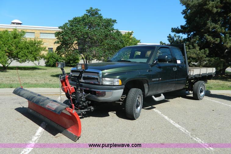 1996 Dodge Ram 2500 flatbed truck | Item H2467 | SOLD! July