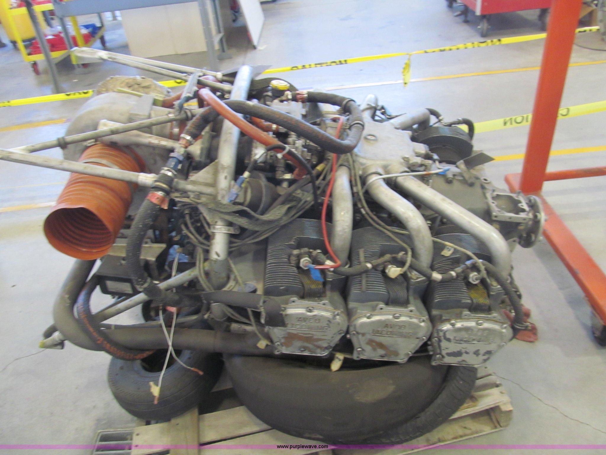 Lycoming aircraft engine | Item AY9243 | SOLD! July 8 Govern
