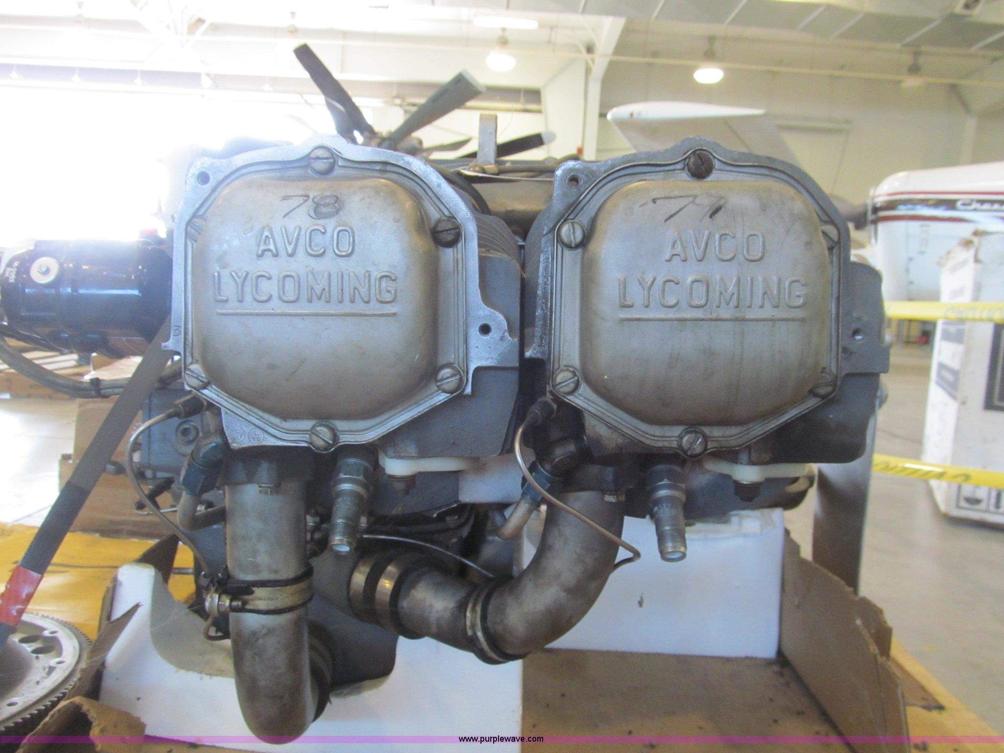 Lycoming aircraft engine | Item AY9248 | SOLD! July 8 Govern