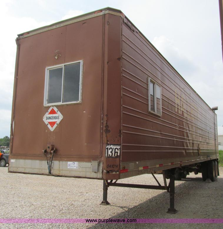 Used Tires Des Moines >> 1977 Great Dane 711TR-45 dry van trailer | Item E4906 | 7 ...