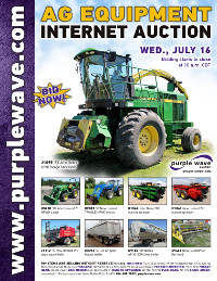 View July 16 Ag Equipment Auction flyer