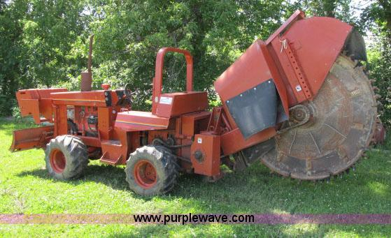 ditch witch 6510 rock wheel trencher item f4913 sold ju rh purplewave com Used Trencher Parts Ditch Witch R100 Trencher