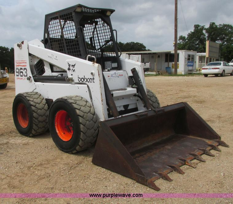 1998 Bobcat 963 Skid Steer Item I9592 Sold July 17 Cons