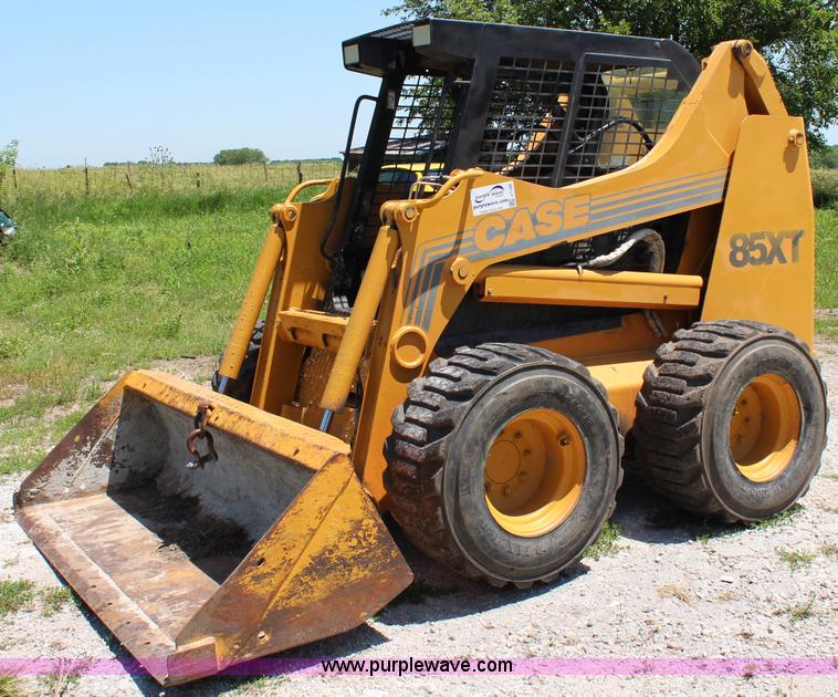 1998 Case 85XT skid steer | Item J1105 | SOLD! July 17 Const