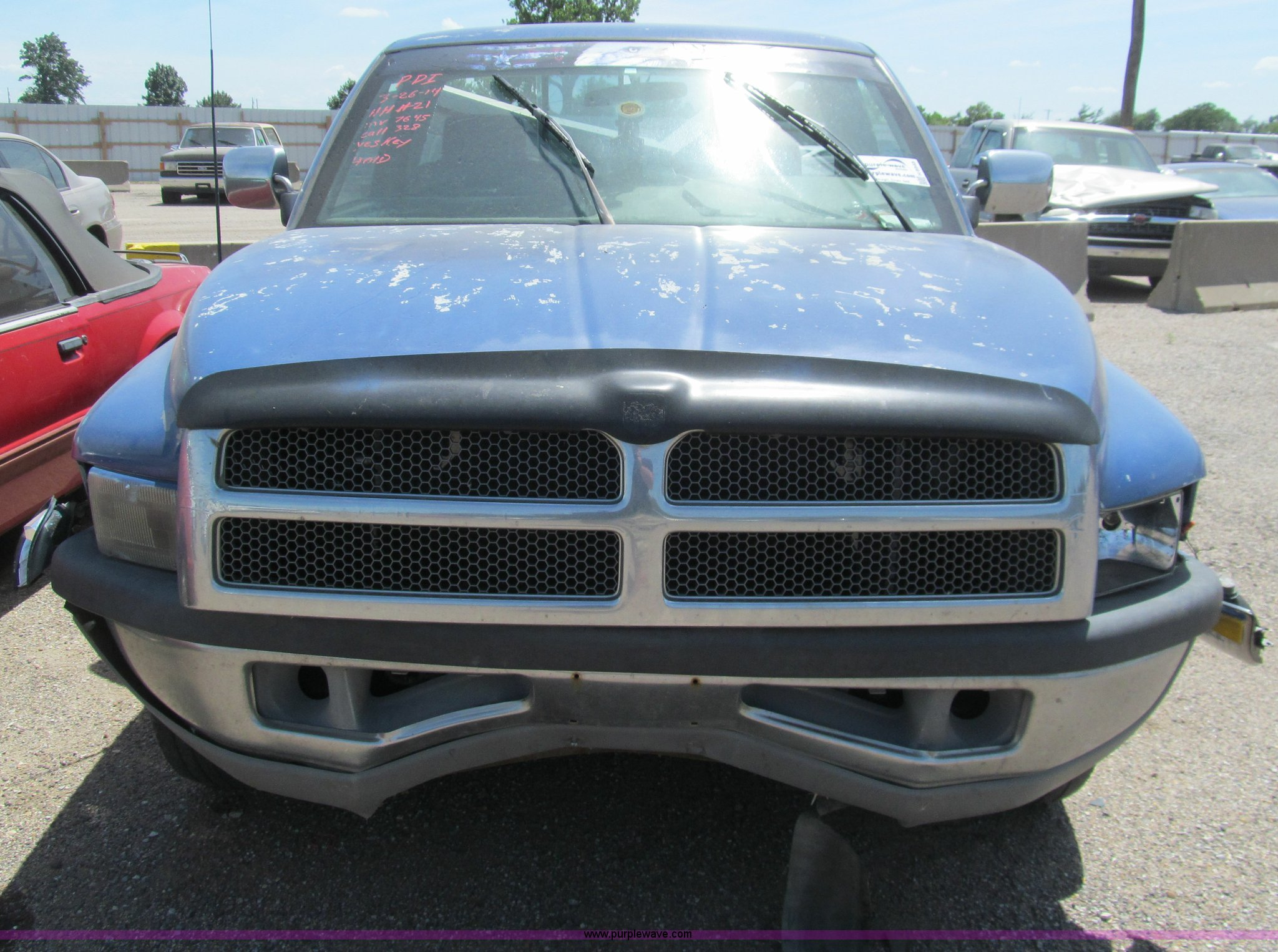 1995 Dodge Ram 1500 pickup truck Item H8948