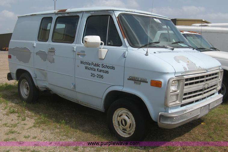 1991 Chevrolet G10 Cargo Van No Reserve Auction On