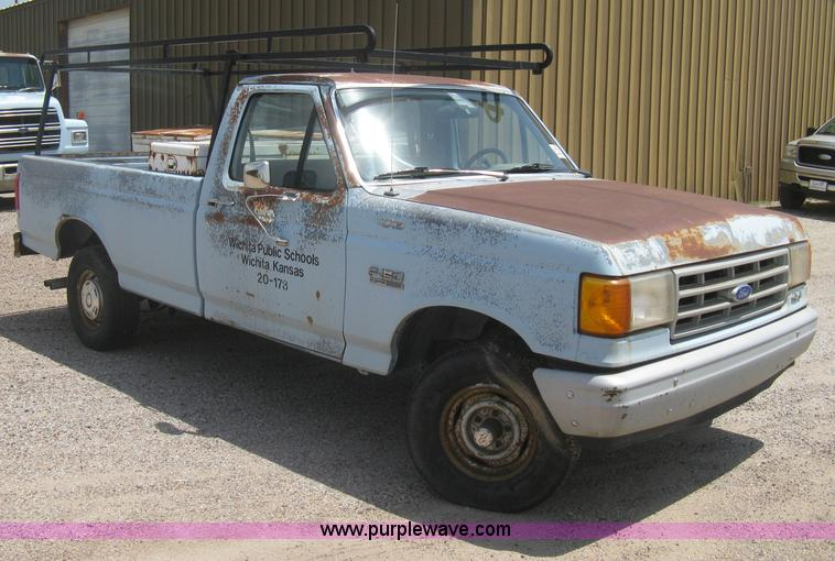 1989 Ford F150 Custom Pickup Truck No Reserve Auction On