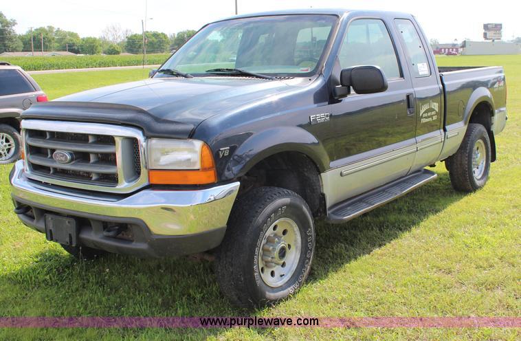 1999 ford f250 super duty xlt supercab pickup truck item j. Black Bedroom Furniture Sets. Home Design Ideas