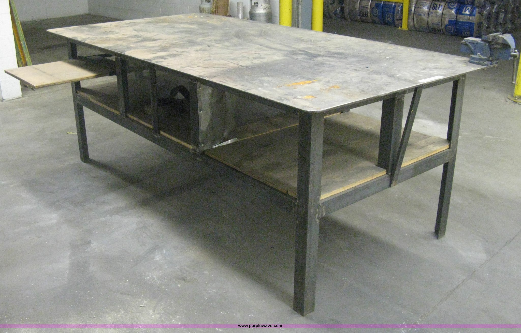 Beautiful AS9082 Image For Item AS9082 Metal Work Table