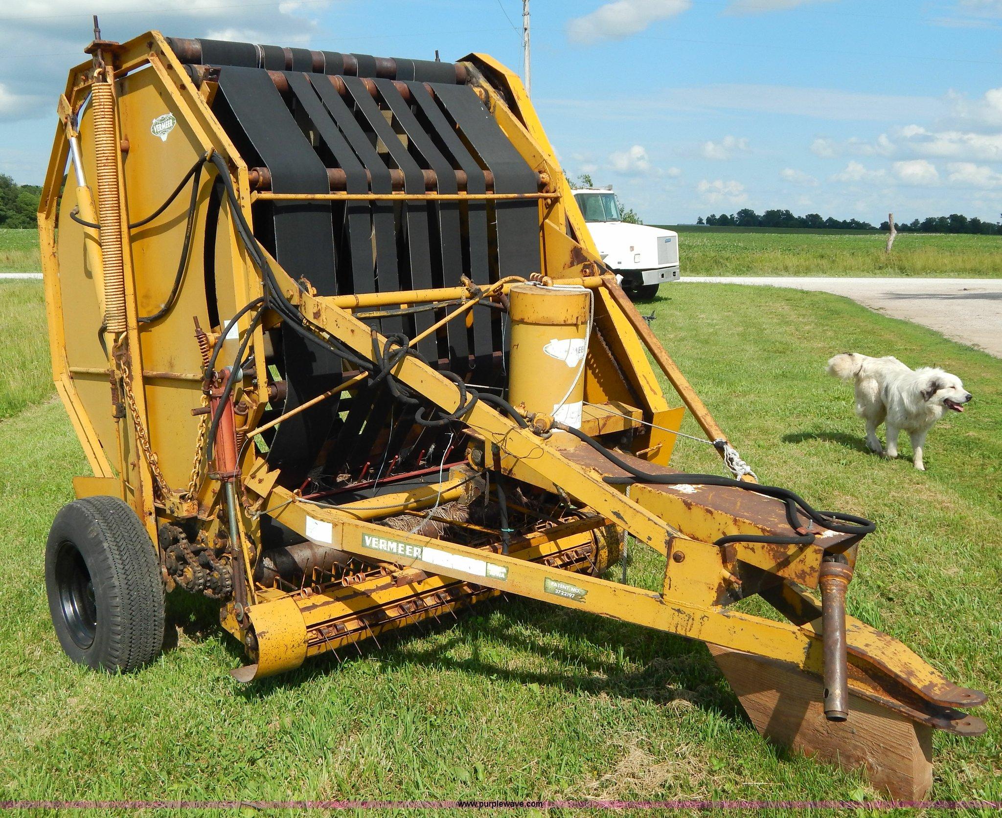 605c vermeer round baler good or bad - Z9302 Image For Item Z9302 1974 Vermeer 605c Round Baler