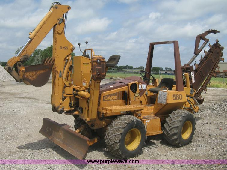 1993 Case 560 trencher | Item H5414 | SOLD! July 31 ...