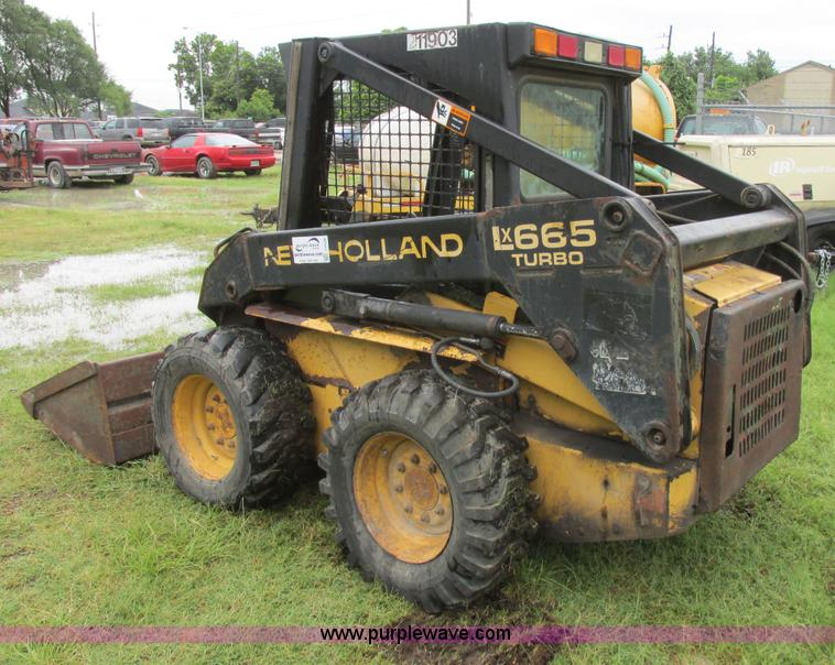 1996 New Holland LX665 Turbo skid steer | Item I2528 | SOLD!