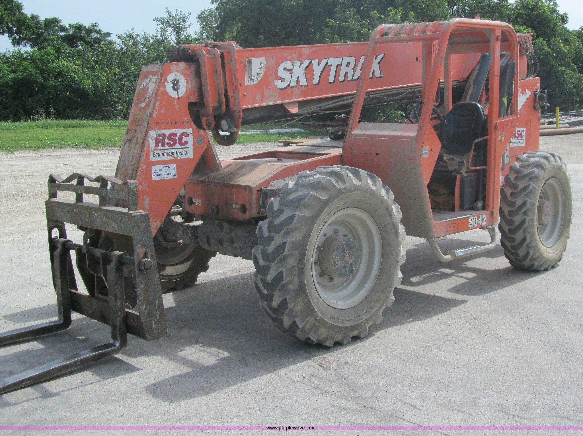 ... 2005 skytrak 8042 telehandler item f3501 sold! july 31 c skytrak 8042 wiring  diagram f3501