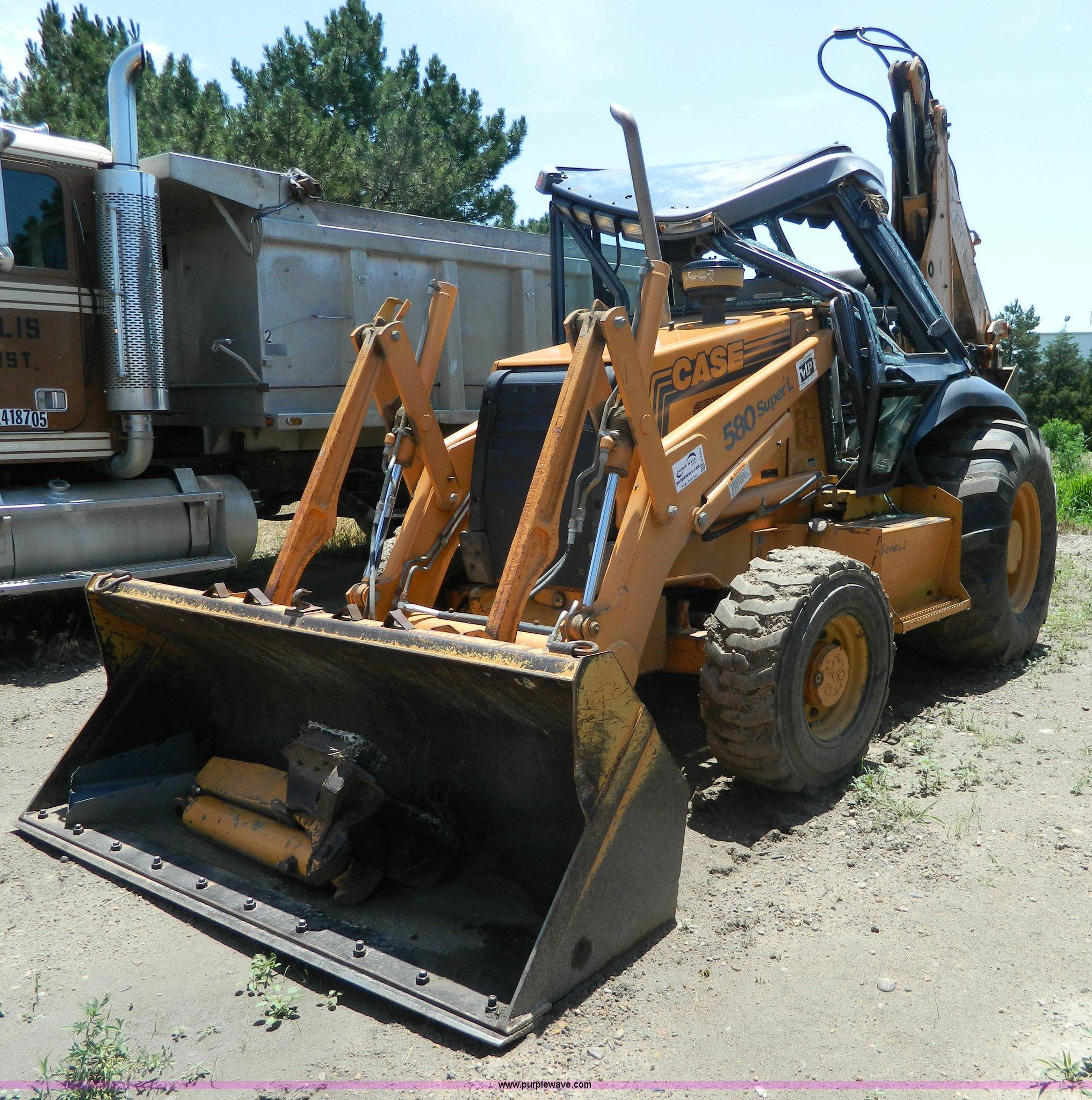 2000 Case 580 Super L backhoe | Item H2457 | SOLD! July 31 C