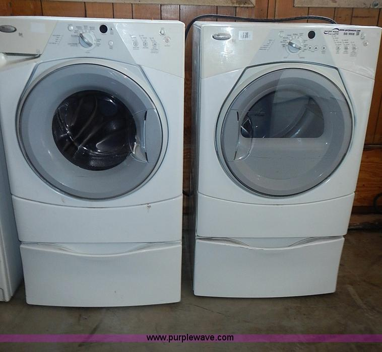 Whirlpool Duet Washer And Dryer Dimensions Whirlpool Front Load Washer. Wfw9290fw Whirlpool 4 ...
