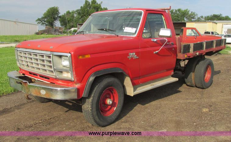 1980 Ford F250 Flatbed Pickup Truck Item I9546 Sold Aug