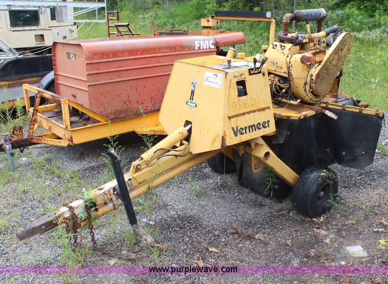 Vermeer Stump Grinder For Sale >> Vermeer 630b Stump Grinder Item J1064 Sold August 5 Gov