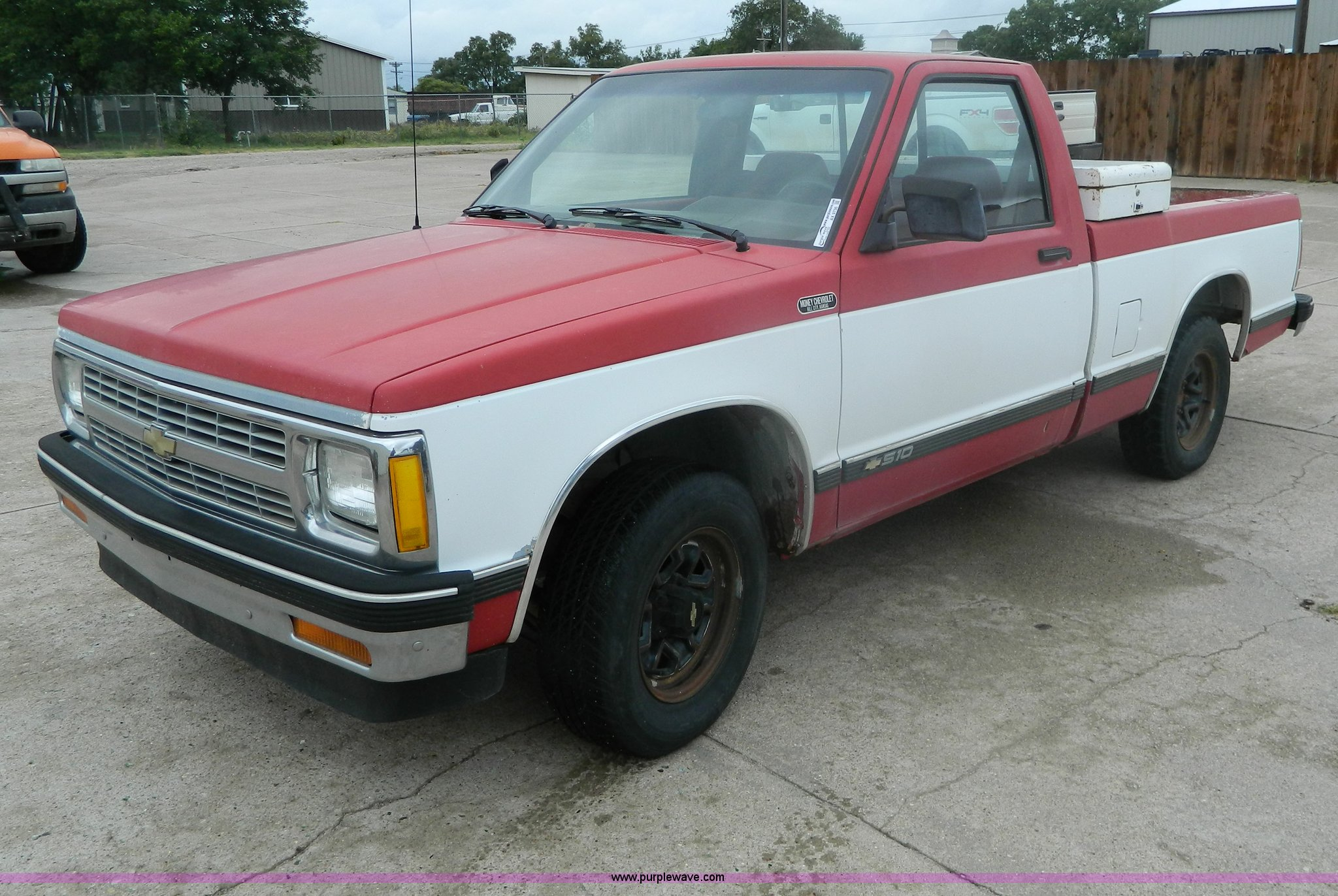 1992 Chevrolet S10 Pickup Truck In Hill City Ks Item Ax9736 Sold Purple Wave