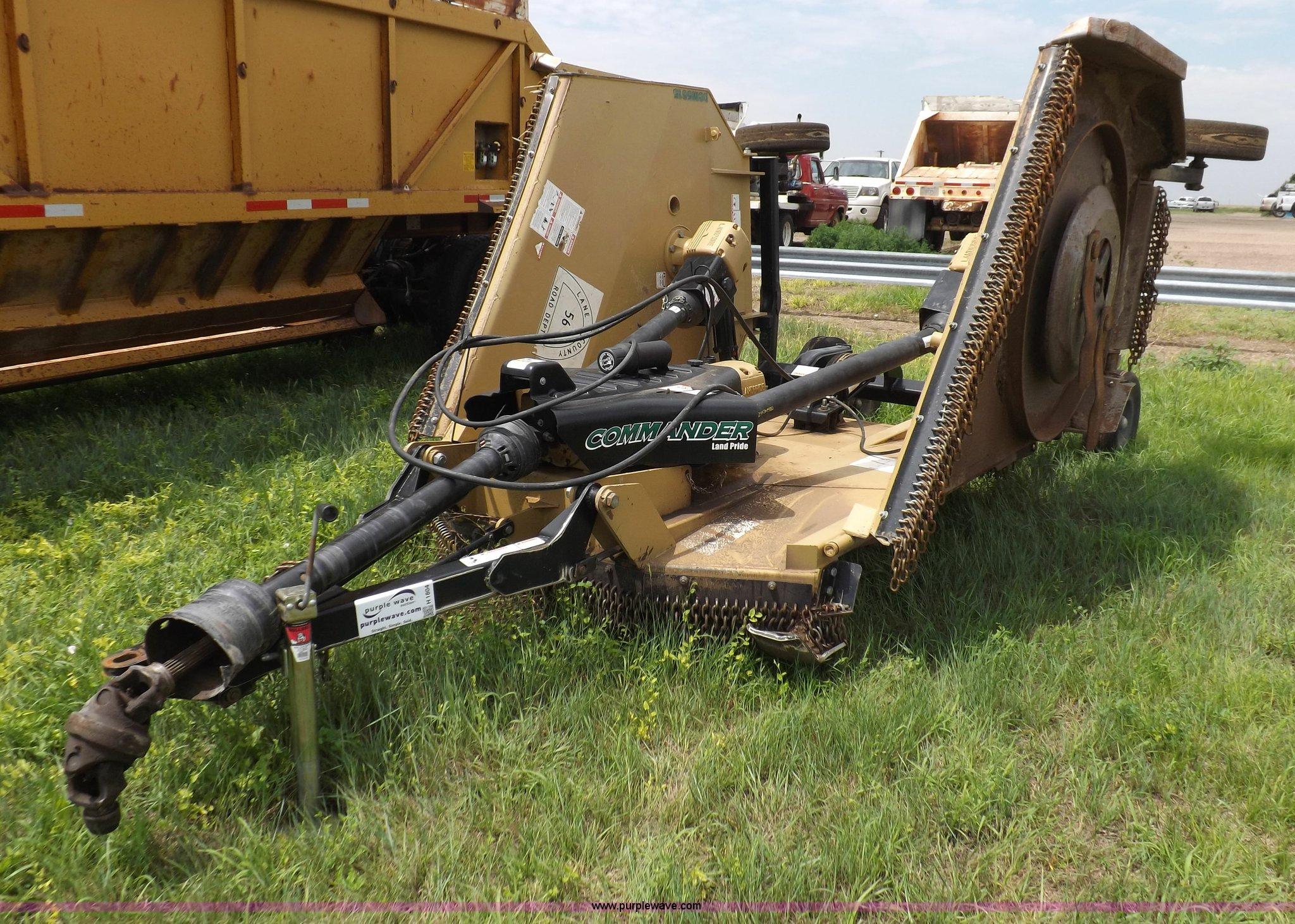 Land Pride RCM5515 Commander batwing rotary mower | Item H18