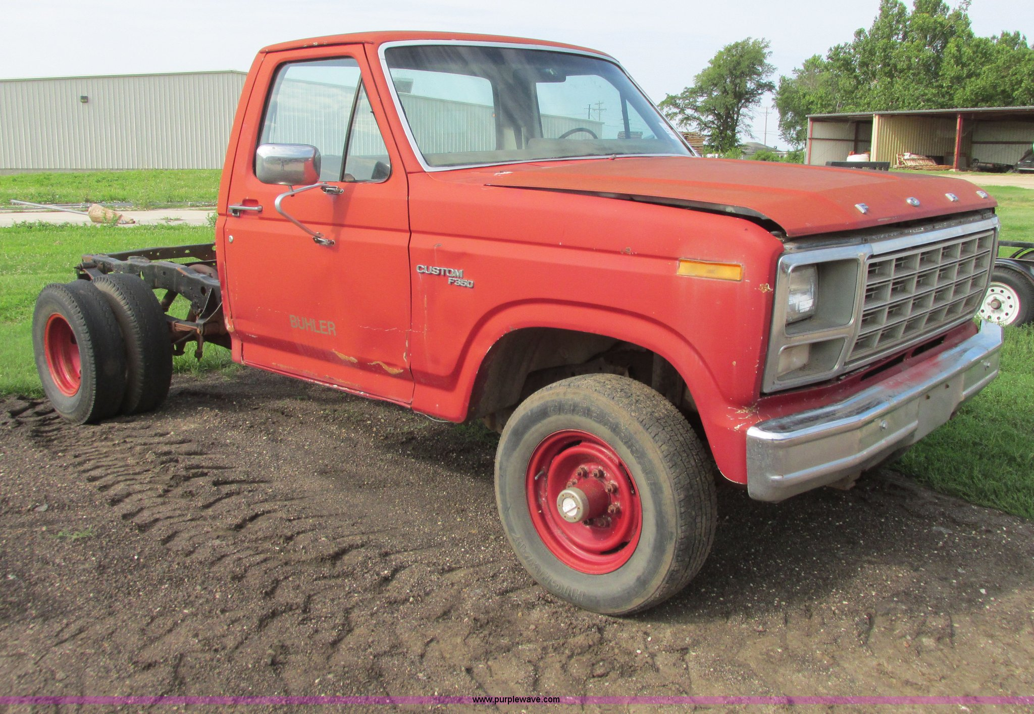 1980 ford f350 truck cab and chassis item i9545 sold au rh purplewave com 1980 Ford F 350 Colors That Year 1980 Ford F- 250
