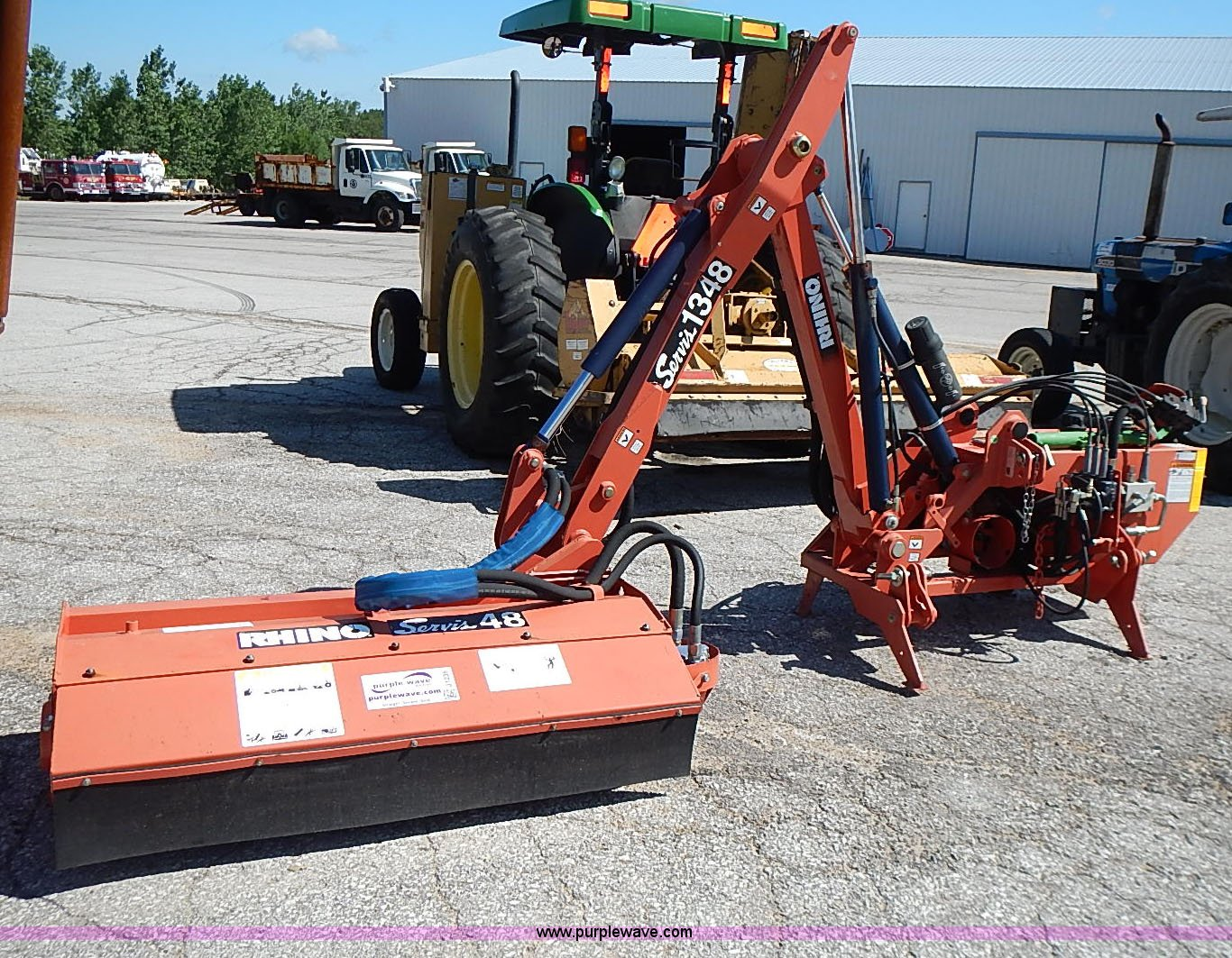 Rhino 1348 boom mower | Item J1235 | SOLD! August 5 Governme