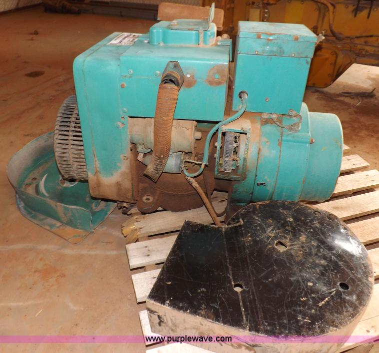 Onan generator   Item H1760   SOLD! August 6 Vehicles and Eq