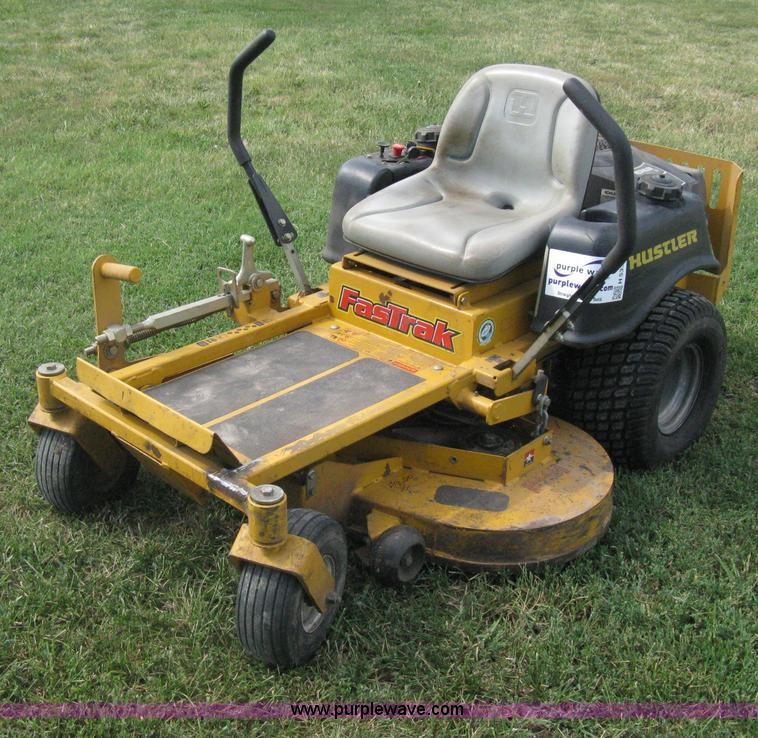 Fastrak hustler lawnmower