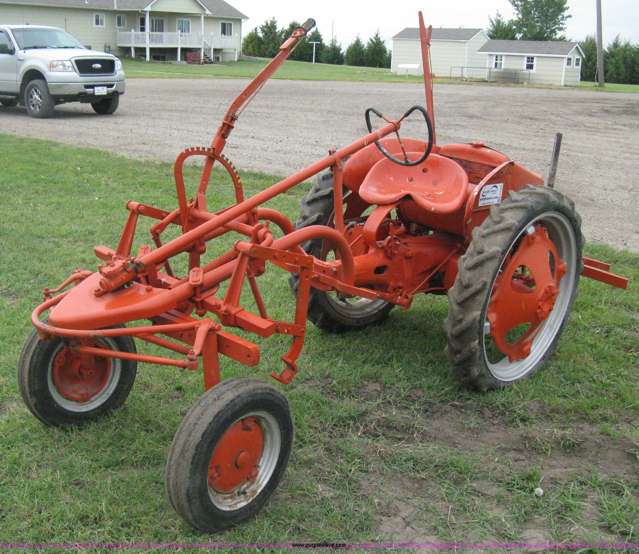 1947 allis chalmers g tractor item h5329 sold august for Century ac motor serial number lookup