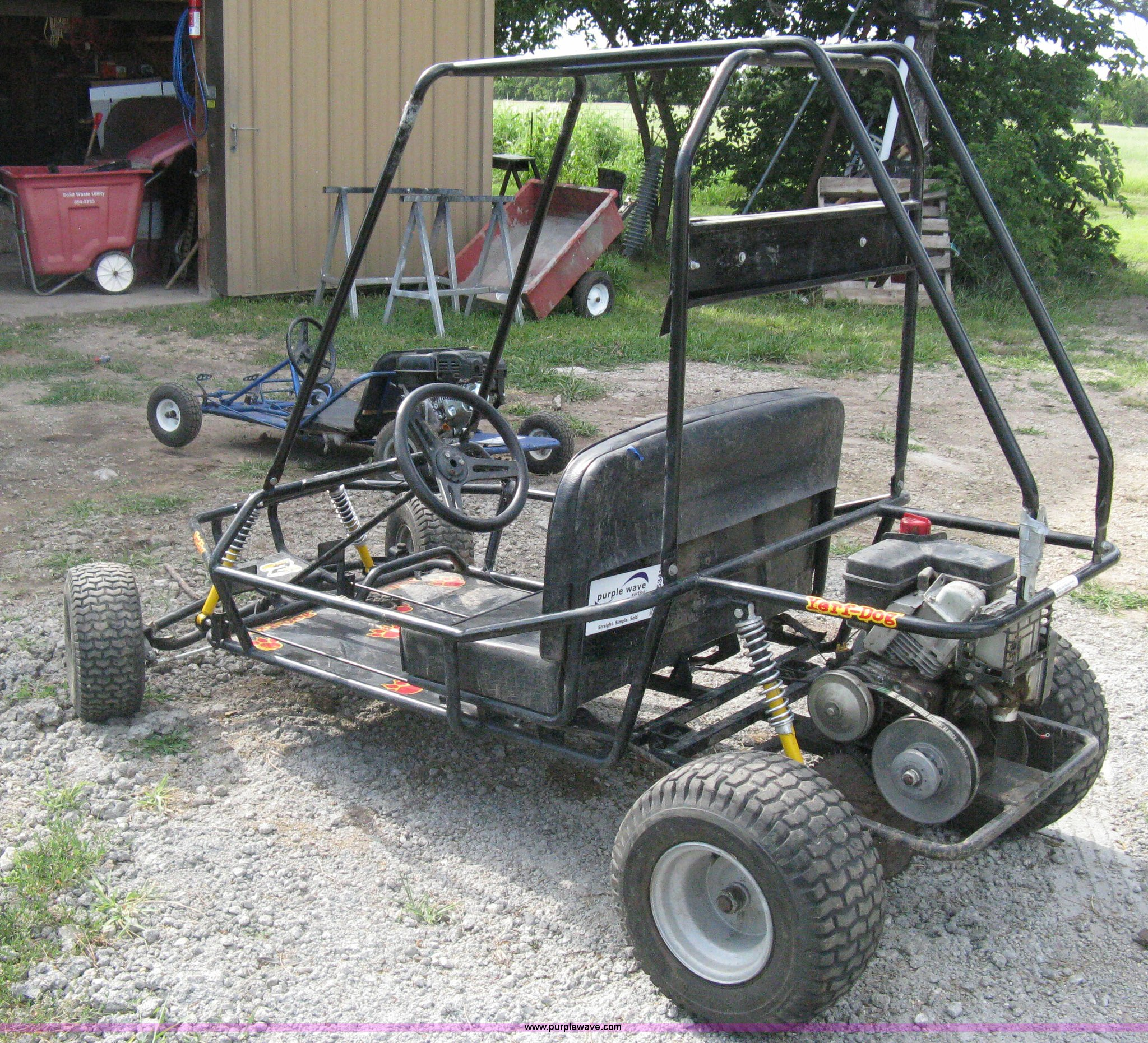 Yerf Dog go kart | Item H5341 | SOLD! August 6 Vehicles and ...
