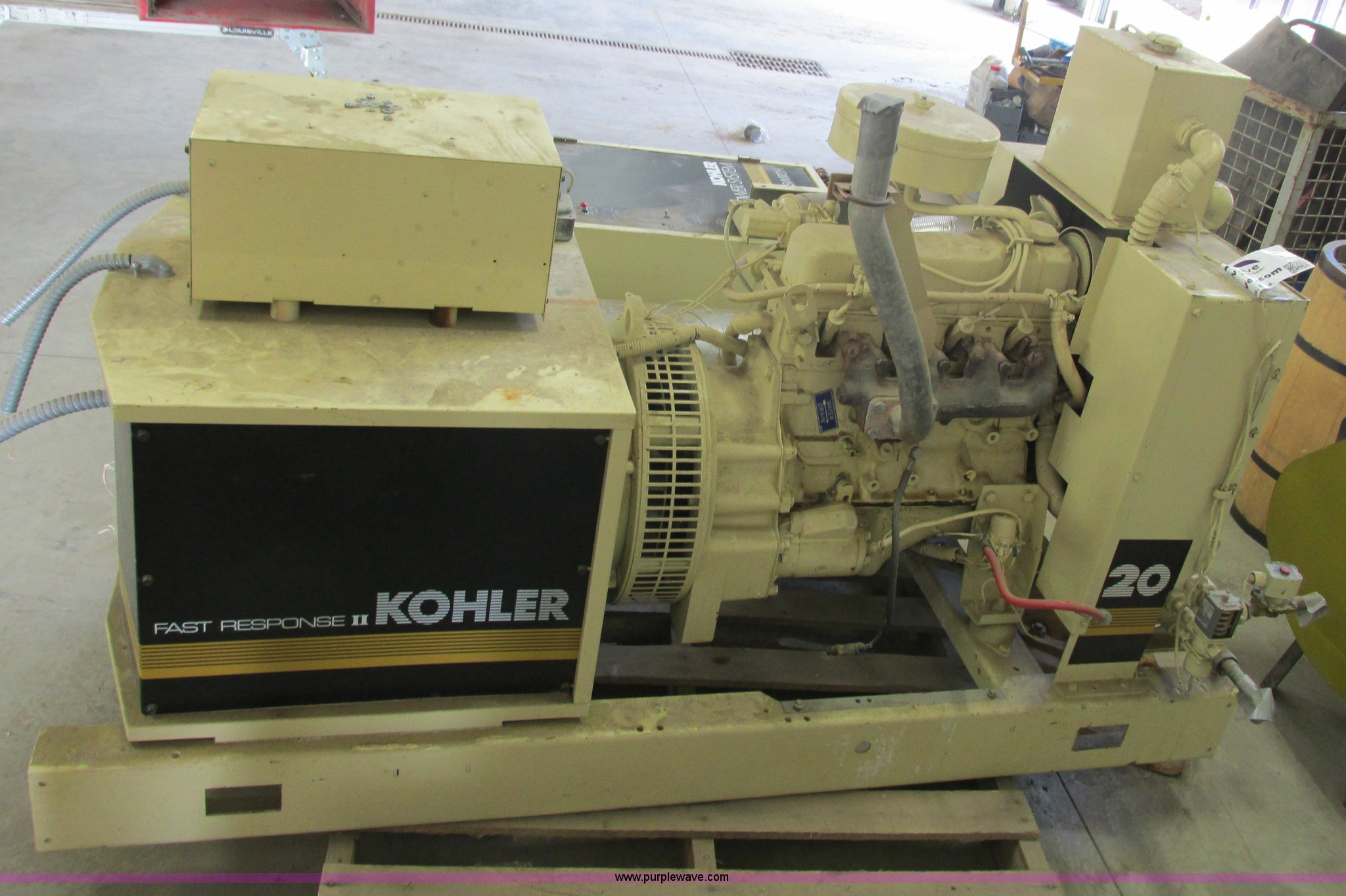 Kohler 20RZ278 Fast Response II on demand generator | Item I...