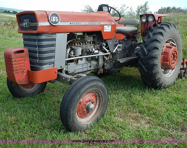 1968 massey ferguson 165 multi power tractor item j2105. Black Bedroom Furniture Sets. Home Design Ideas