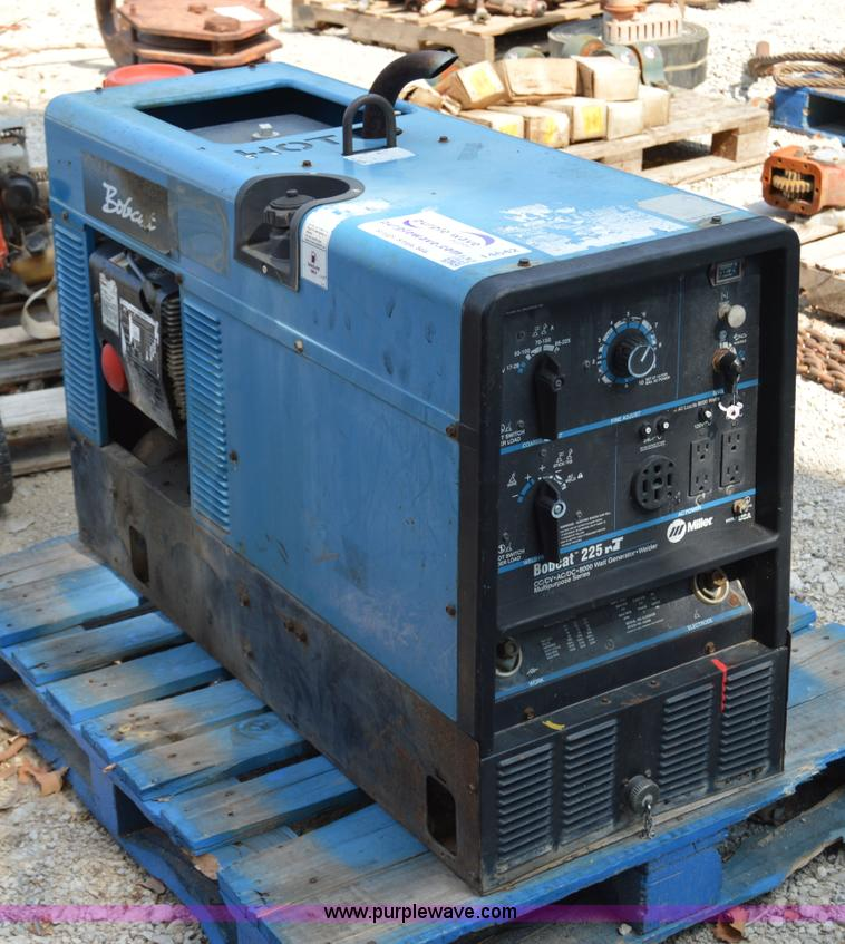 Miller Welders For Sale >> Miller Bobcat 225nt Welder Generator Item I4642 Sold Au