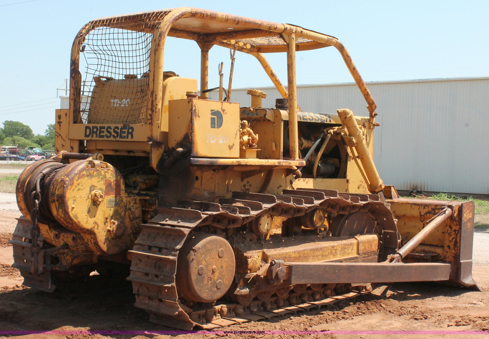 Dresser TD-20 dozer | Item H5635 | SOLD! August 14 Construct