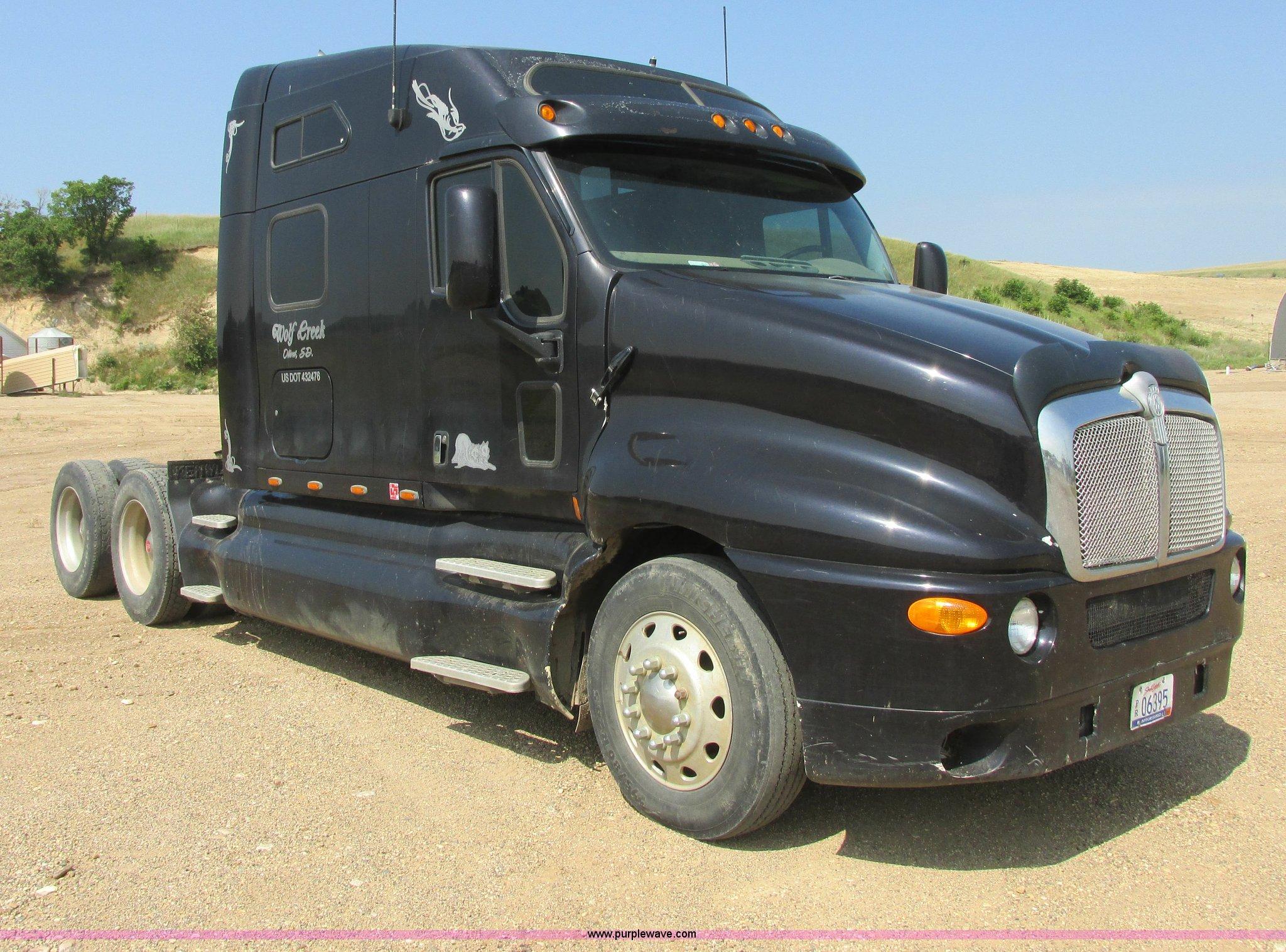 1997 Kenworth T2000 Semi Truck Item I6208 Sold August 1 Ac Wiring Full Size In New Window