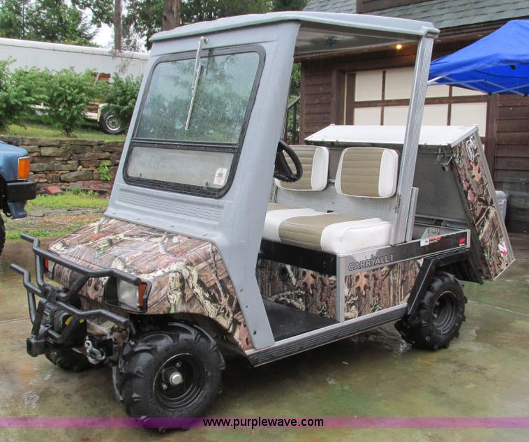 2002 club car carry all 1 golf cart no reserve auction. Black Bedroom Furniture Sets. Home Design Ideas